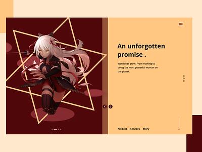 Anime Portal ui product design figmaafrica design