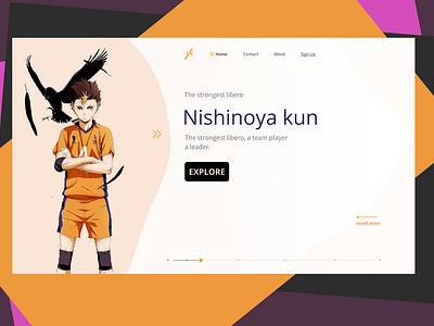 An fanbase anime UI site figmaafrica ui ux product design design
