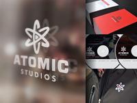 Atomic Studios Branding