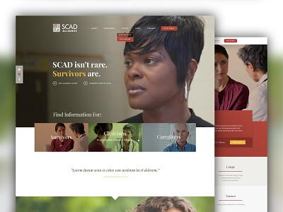 SCAD Alliance Website website web