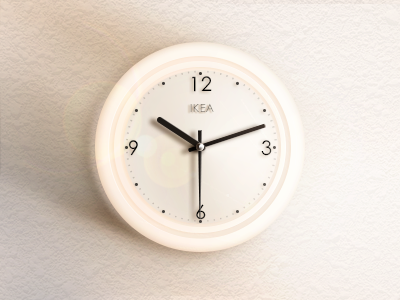 Clock from ikea