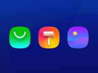 HIT COLOR icons