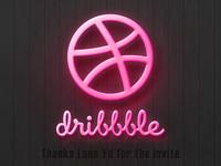 Dribbble Invite400300
