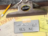 Mike's Hard Lemonade Age Gate