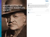RSNA Centennial Timeline