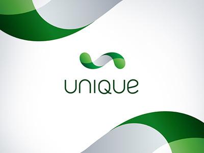 Unique unique interactive agency logo