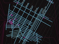 Map of NYC Nightlife