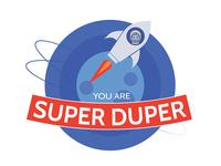 You Are Super Duper Logo