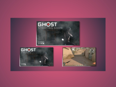 Ghost of Tsushima gaming screens gamers streamer twitchstreamer motiongraphics motiondesign gamergirl gamer esport twitch logo twitch gaming ghostoftsushima