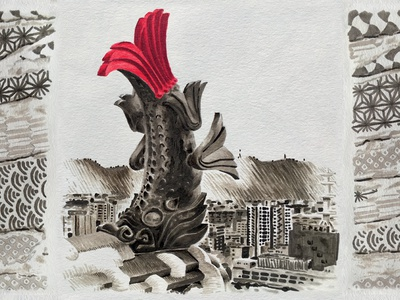 JAPAN Wabi sabi 2015 - KOI