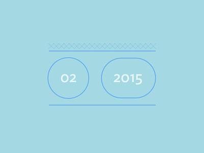 Rdio Playlist Cover Image rdio blue ideal sans 2015 february