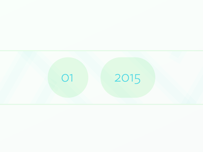 Rdio January 2015 Playlist Cover january rdio green blue blue in green 2015 ideal sans