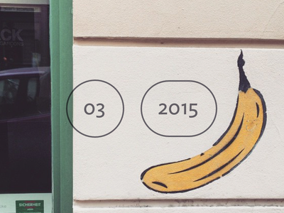 Rdio March 2015 Playlist Cover rdio 2015 march ideal sans banana green wall photo
