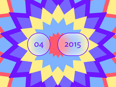 April 2015 Playlist rdio 2015 april ideal sans primary star burst