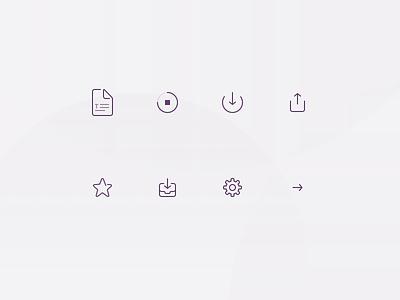 File transfer icons file purple icon