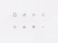 File transfer icons