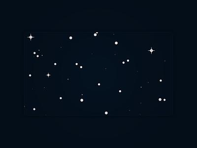 Stars night blue stars