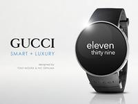 Gucci smartwatch concept