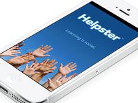 Helpster™ App (iOS)
