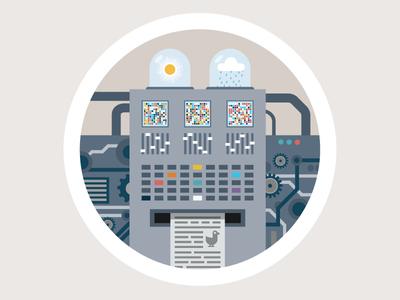 Climate Machine – Infograpic animation animation infographic flat design science illustration machine climate change kurzgesagt