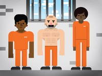 Prisons & Vlogbrothers hank green vlogbrothers prisons kurzgesagt flat design infographic animation