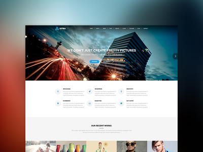 Kitra MultiPurpose WordPress Theme