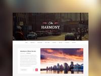 Harmony - Wordpress Blog Theme
