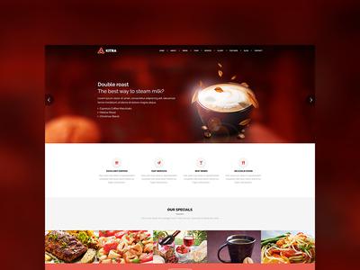 Kitra MultiPurpose WordPress Restaurant Theme
