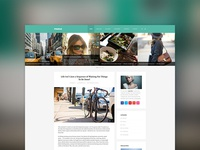 Mango - Clean Responsive WordPress Blog Theme