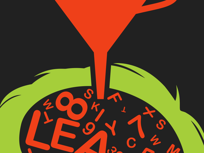 Preparing Salespeople for Inbound Marketing Success typography green red black vector lean