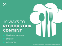 10 Ways to Recook Your Content