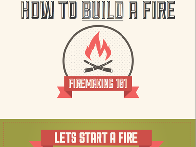 Firemaking Infographic infographic