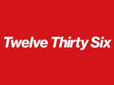 Twelve Thirty-Six Logo