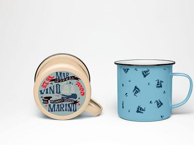 print and lettering on mugs typography type minimal logo lettering illustrator illustration design branding art