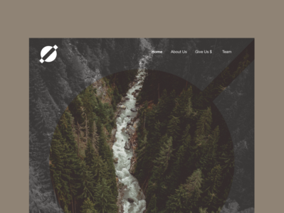 Another design of the river homepage