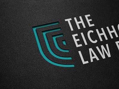 Eichholz Law Firm logo identity design branding focus lab