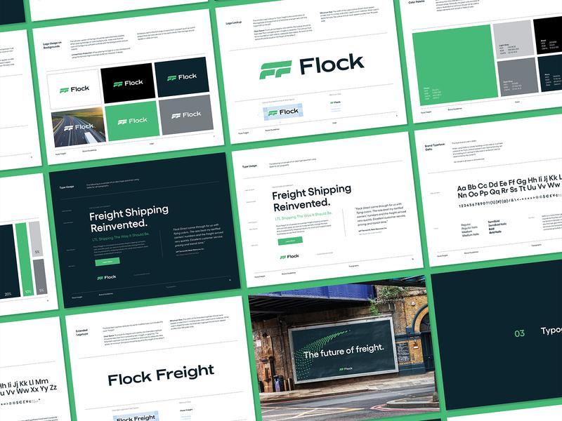Green Means Go brand guidelines brand design identity design branding focus lab