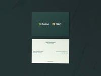 Polco + NRC Business Cards