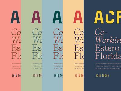 Acres of Color brand development brand identity palette color branding focus lab