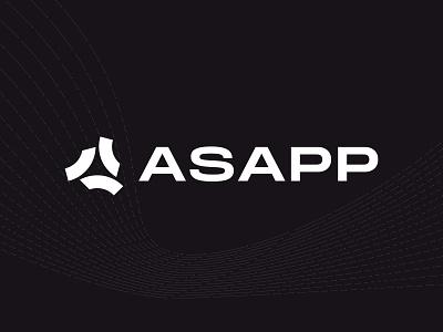 ASAPP Case Study brand identity ai ui design branding agency logo design identity design branding focus lab