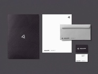 Scholarly, Cutting-Edge, Professional identity design print stationery brand design branding focus lab