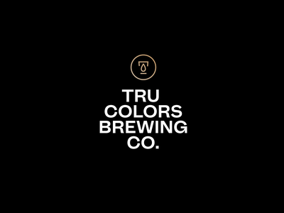 The Catalyst monogram unity beer brewery identity logo branding focus lab