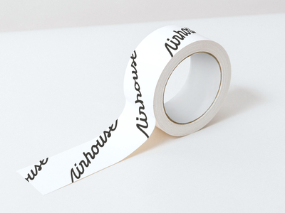 Roll Tape! logo design tape mockup branding focus lab