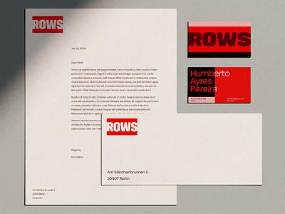 Flexible modular brand development stationery identity design branding focus lab