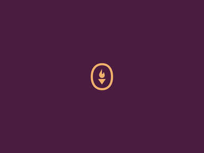 Carrying a Torch focus lab flame torch logo identity design branding