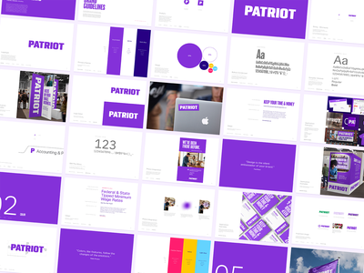 Patriot Case Study identity design brand development logotype brand guidelines identity branding focus lab