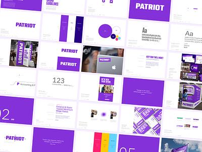 Patriot Case Study identity design brand development logotype brand guidelines identity branding focus lab
