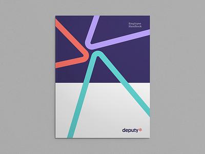 Employee Handbook brand identity identity design branding handbook book mockup