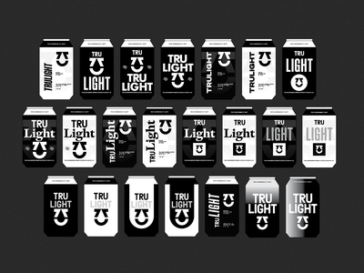 TRU Mock Ups brand identity identity design packaging brewery beer can beer branding