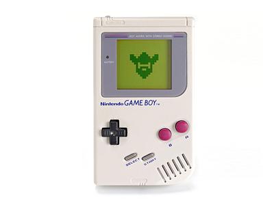 Is this thing on? branding videogame gameboy viking boneyard pixel